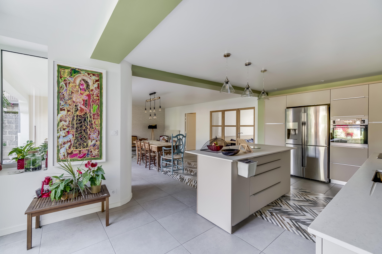 Agencement et décoration d'une cuisine sur-mesure à Langon