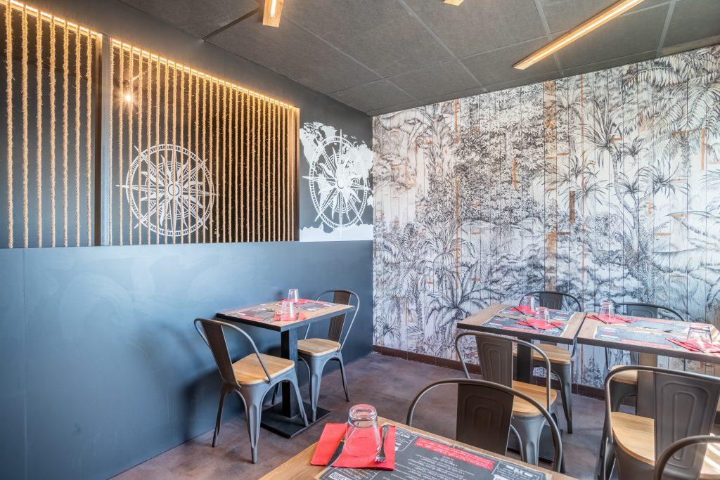 décoration restaurant bassin d'arcachon