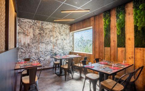 décoration d'intérieur restaurant